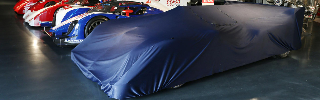 Toyota TS040 Hybrid Under Wraps