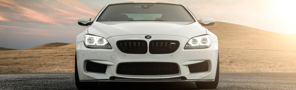 Front View of Vorsteiner's BMW M6 GTS-V