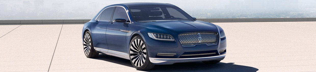Lincoln Continental Concept Front and Side View