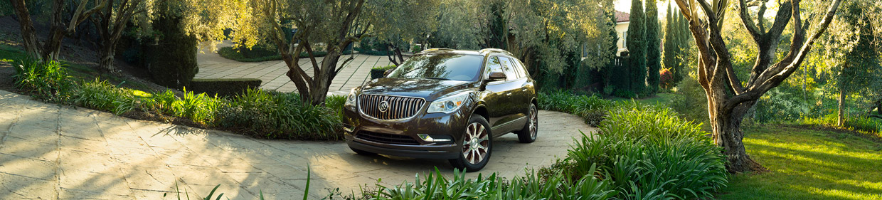 Buick Enclave Tuscan Edition Front and Side View