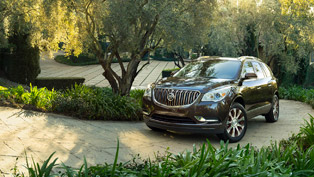 bronze-accented buick enclave makes north american debut