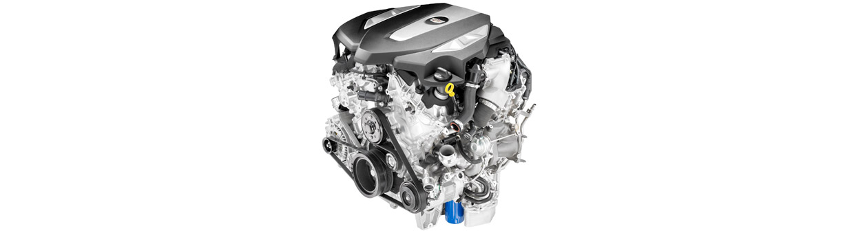 Cadillac CT6 3.0L Twin Turbo Engine