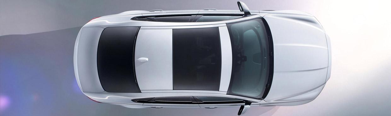 Top View of 2016 Jaguar XF