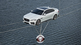 Jaguar XF Revealed via Strenuous High-Wire Journey [VIDEOS]