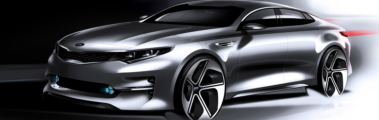 Next Generation Kia Optima Sketch