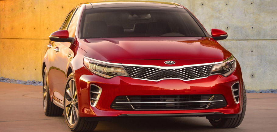 2016 Kia Optima SX Front View