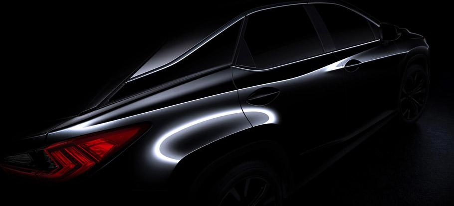 2016 Lexus RX Teaser