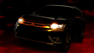 Mitsubishi Teasing 2016 Outlander Again