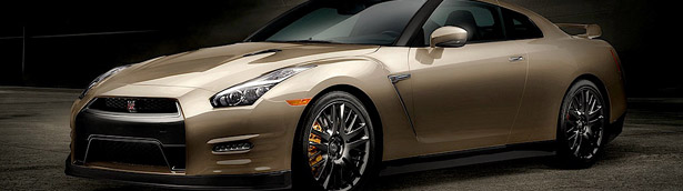 Nissan Celebrates GT-R with Gold Edition