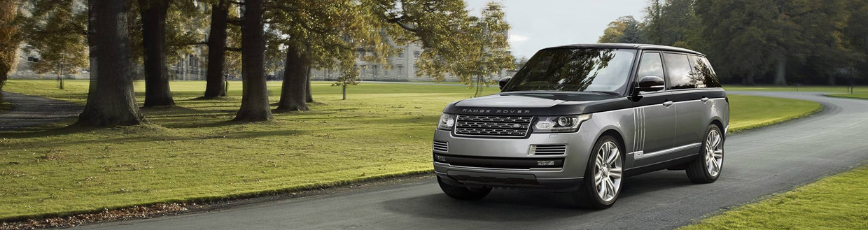 Range Rover SVAutobiography Front and Side View