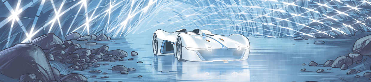 Alpine Vision in Gran Turismo Sketch