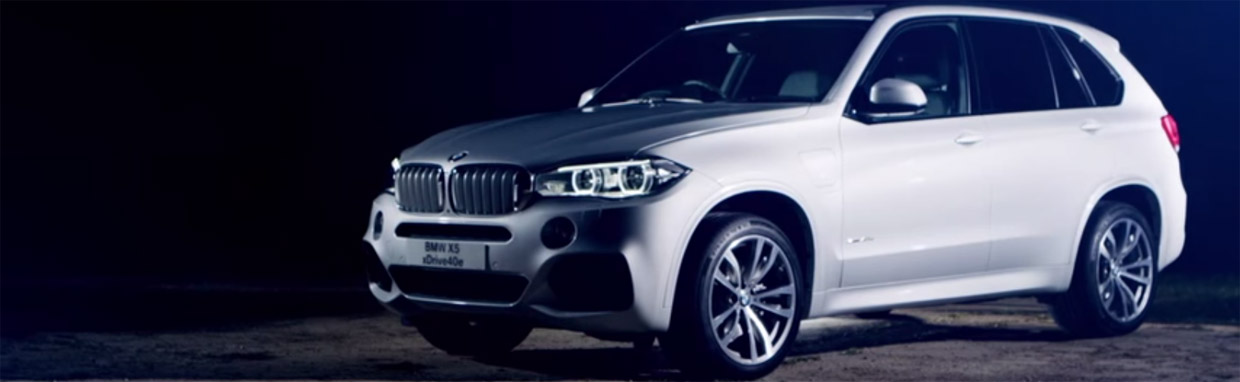 BMW X5 xDrive40e  Promotional Clip