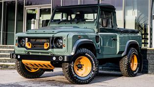 kahn releases cwt pick up based on land rover defender