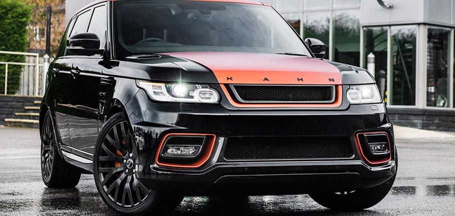 Kahn Range Rover Sport HSE 400 LE Vesuvius