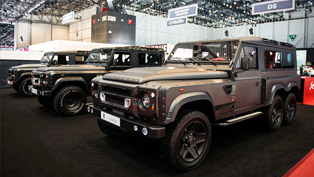 The Amazing Flying Huntsman 110 WB 6x6 Concept Lands in Geneva [VIDEO]
