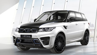 Larte Range Rover Sport Winner Turns Blue