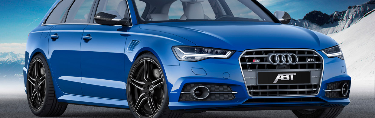 ABT Audi S6 Front and Side View