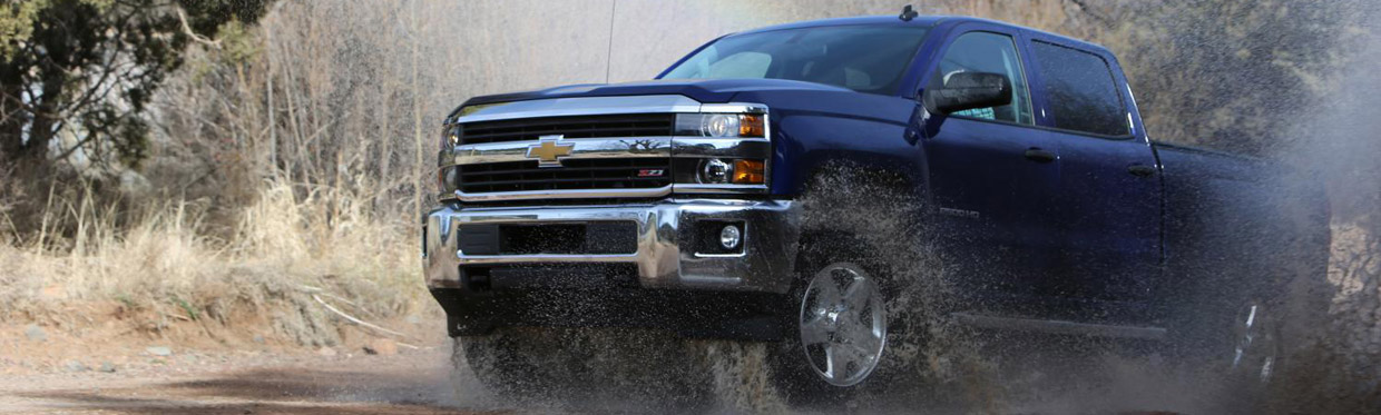 Chevrolet Silverado LT 2500HD with Z71