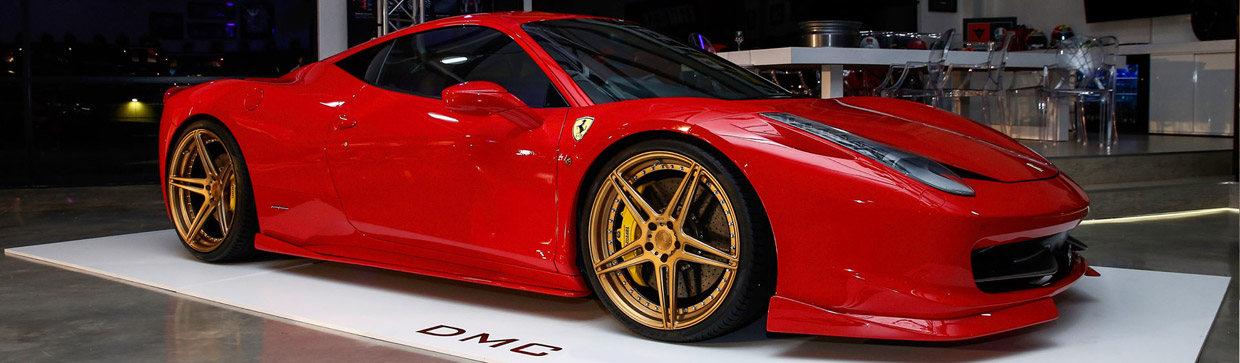 2015 DMC Ferrari 458 Italia Elegante South Africa Edition Side View