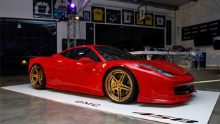 "DMC Creates ""Elegante"" Aero Kit for Ferrari 458 Italia"
