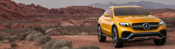 Mercedes-Benz Unveils GLC Coupe Concept