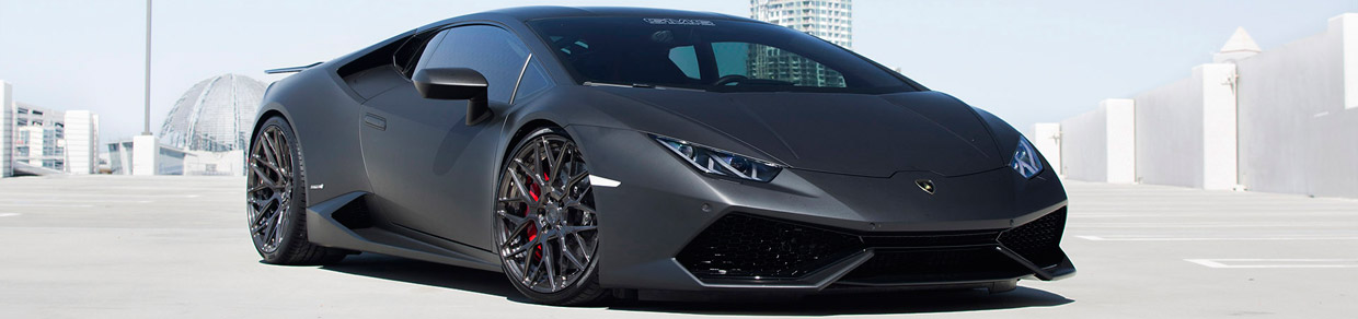 GMG Lamborghini Huracan Side View