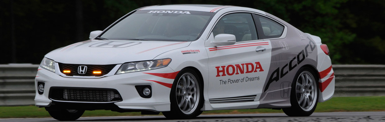 Honda Accord Safety Car for the Verizon IndyCar Series
