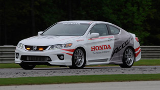 accord safety car to pace verizon indycar series