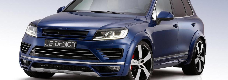 JE Design VW Touareg Front View