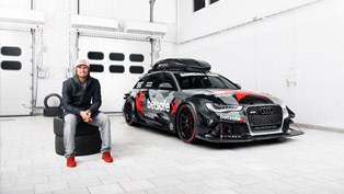 Jon Olsson is ready for Gumball 3000 with a fierce Audi RS6
