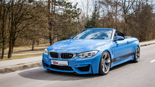 KW automotive with new tweaks for BMW M4 Cabrio