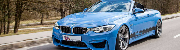 KW automotive with new tweaks for BWM M4 Cabrio