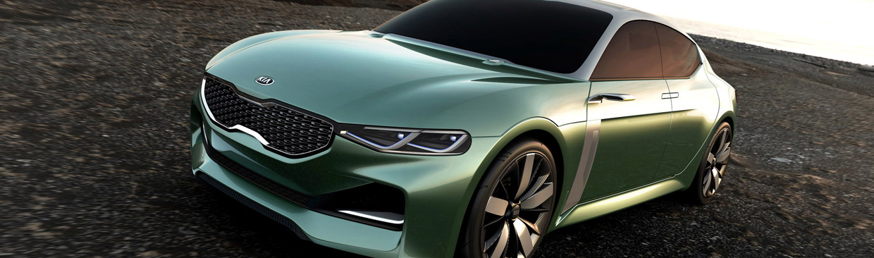 Kia Novo Concept Front and Side View