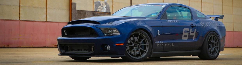 Kinetik Motorsport Shelby Mustang GT500 Side View