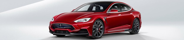 LARTE Tesla Model S Side View