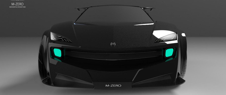 Mean Metal M-Zero Front View