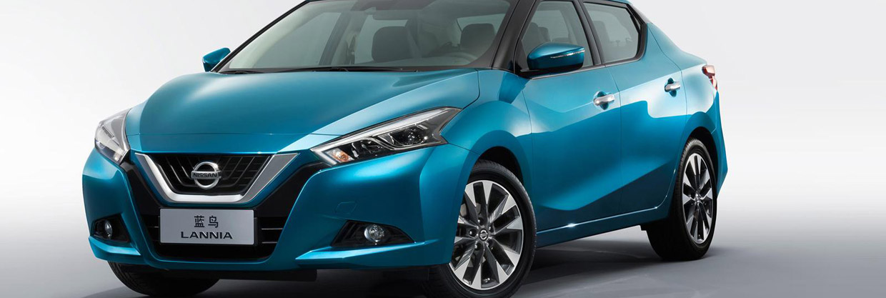 Nissan Lannia Front and Side View