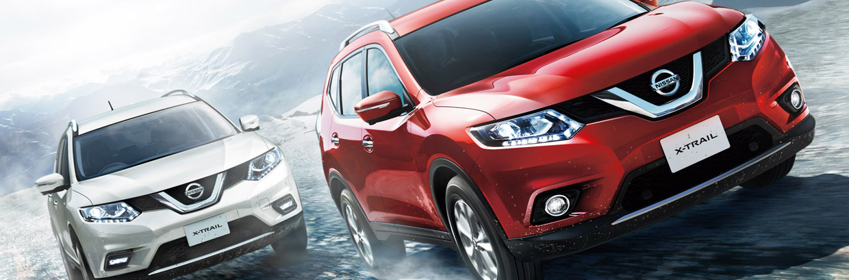 Nissan X-Trail Hybrid Front View
