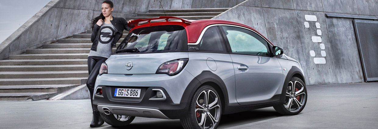 Opel Adam Rocks S Back and Side View