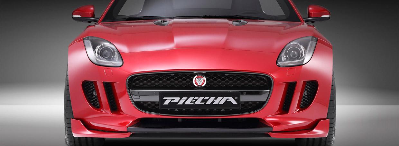 PIECHA Design Jaguar F-Type Roadster Front View