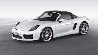 Porsche Brings the Boxter Spyder in New York