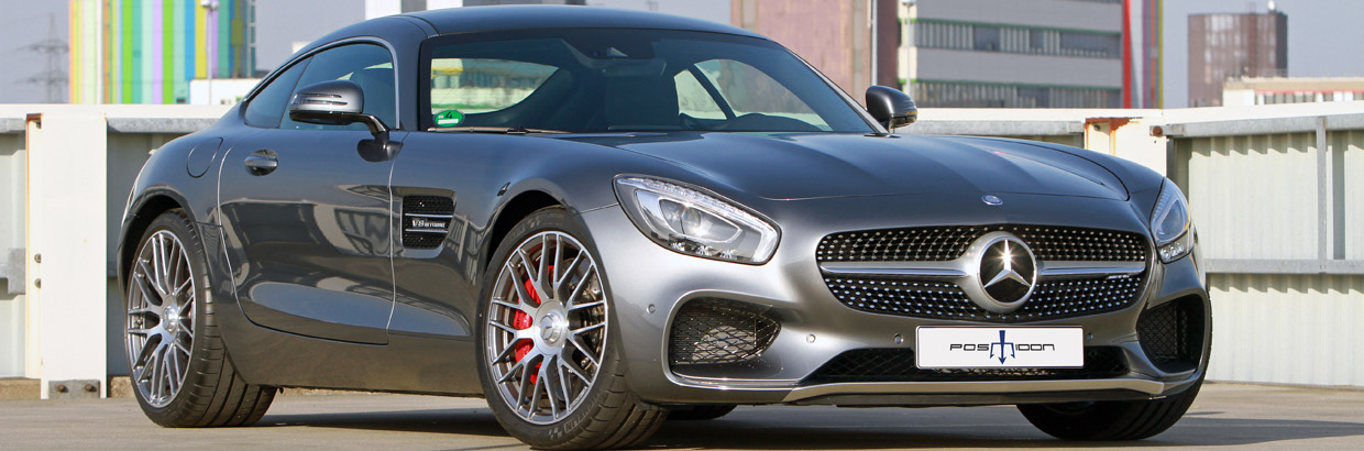 2015 Posaidon Mercedes-AMG GT Front and Side View