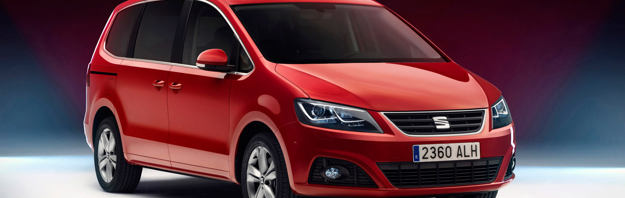 Seat Alhambra Front and Side View