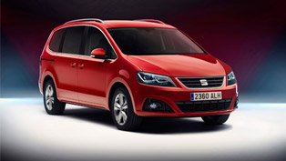 Updated Seat Alhambra is More Efficient but More Powerful