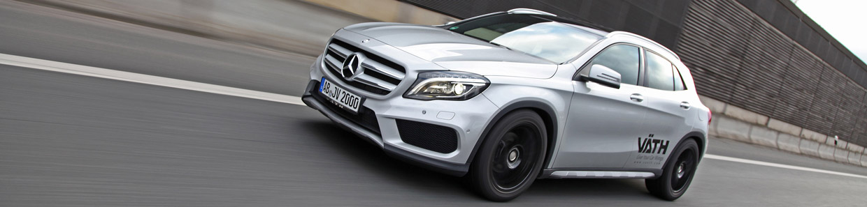 VAETH Mercedes-Benz GLA 200 Side View