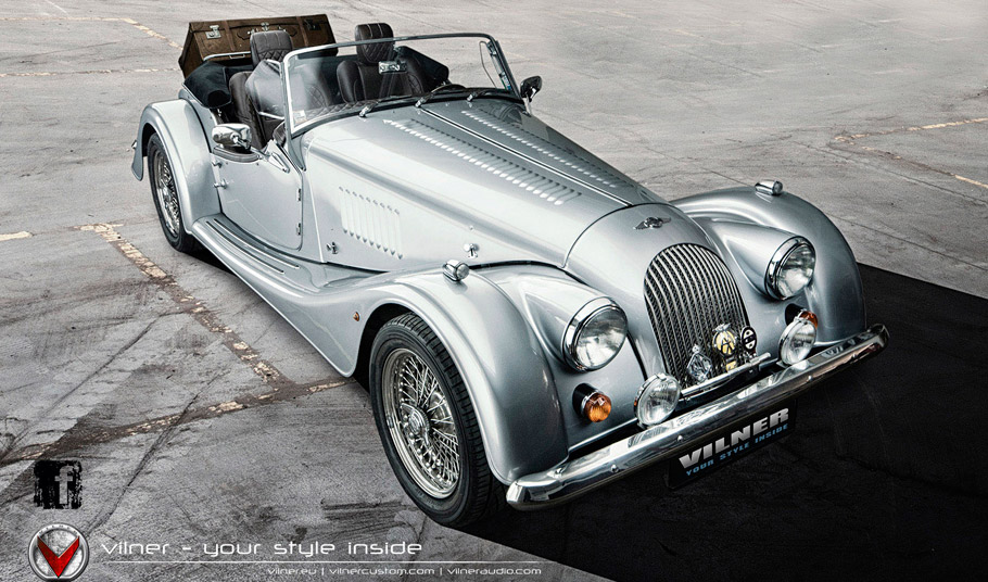 Vilner Morgan Plus 8 Front View