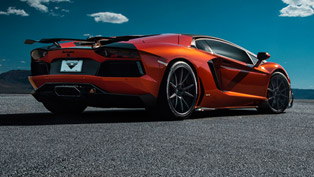 Vorsteiner's Lambo Zaragoza Shows-Off with Aero Wing
