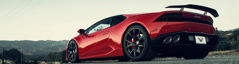 Vorsteiner Lamborghini Huracan Verona Edizione Side and Back View