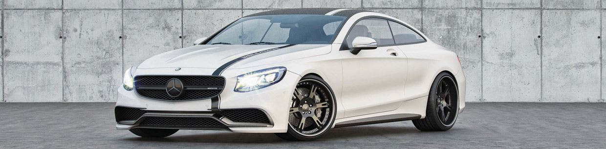 Wheelsandmore Mercedes AMG S63 Front and Side View