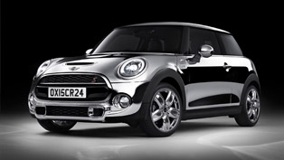 mini shines bright with all-chrome exterior